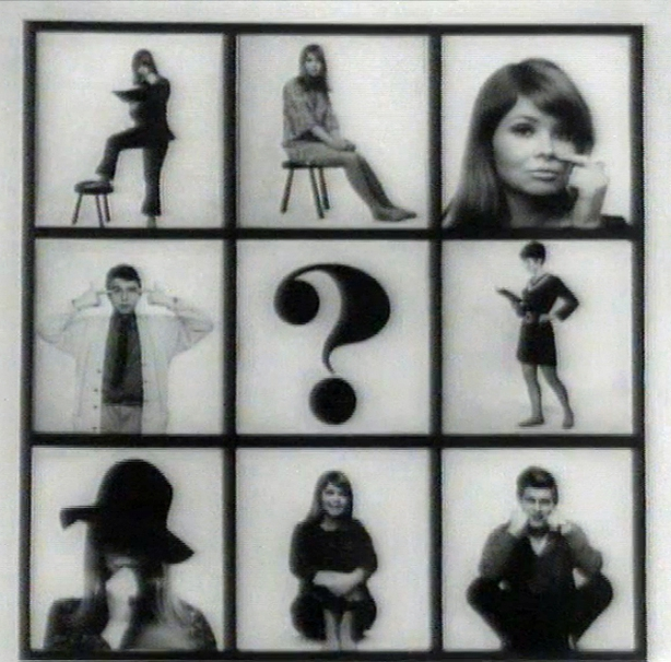Graphic from the opening titles of Búntus Cainte  (1968)