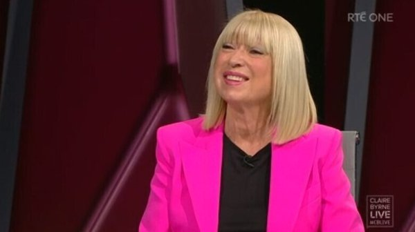Anne Doyle on Claire Byrne Live