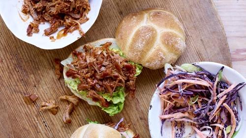 BBQ Pulled Pork Sloppy Style