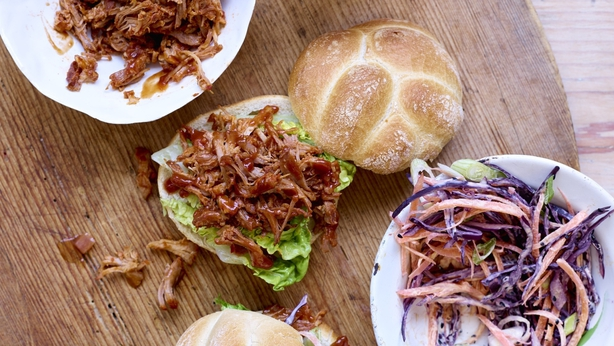 French's BBQ Pulled Pork Sloppy Style burgers (French's/Pa)