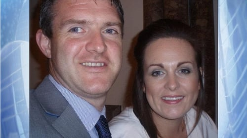 Cliona and her late husband Brendan met 19 years ago