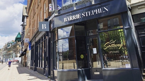 Barrie Stephens runs five hairdressing salons in Leicester and Leicestershire and has had to postpone the opening of two of them in the city centre