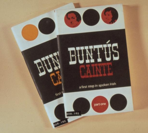 Books produced by Gael Linn to accompany the RTÉ Television Irish language programme 'Buntús Cainte'.