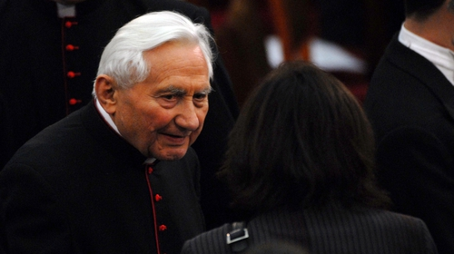 Georg Ratzinger had been hospitalised in Regensburg, Bavaria where he spent much of his life