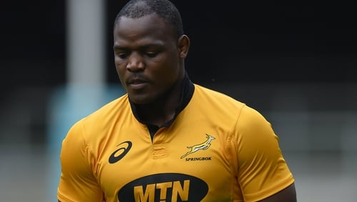 Former Springboks hooker handed eight-year ban for doping