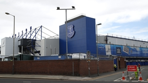 Goodison Park was set to host the fixture