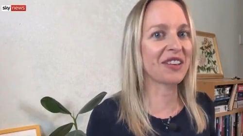 Grace under pressure - Sky News Foreign Editor Deborah Haynes at home