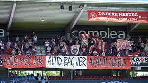 Between 40 and 50 of the fans were expelled from the ground