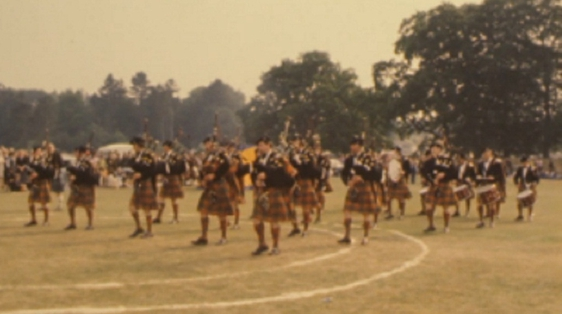 Thirtieth All Ireland Pipe Band Championships, Banbridge, Co. Down (1975)
