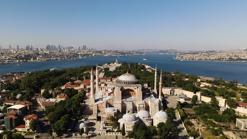 Court has heard petition to convert the Hagia Sophia into a mosque