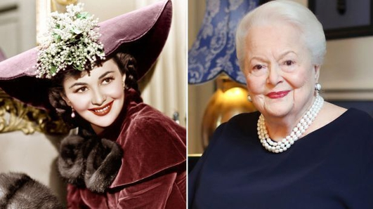 Olivia de Havilland at 104