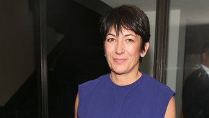 Ghislaine Maxwell appeared by video from the Brooklyn jail where she is being held (File pic)