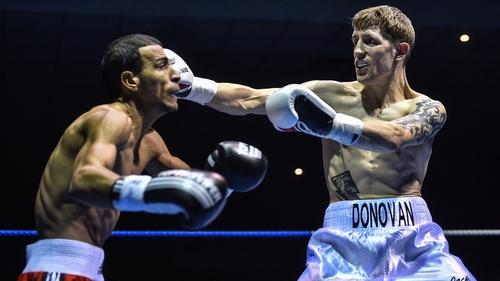Eric Donovan is looking to make a name for himself in Eddie Hearn's back garden next month