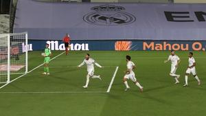 Ramos celebrates his decisive penalty