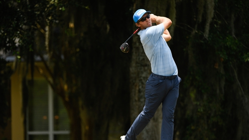 Power claimed five birdies in his opening round at the Rocket Mortgage Classic