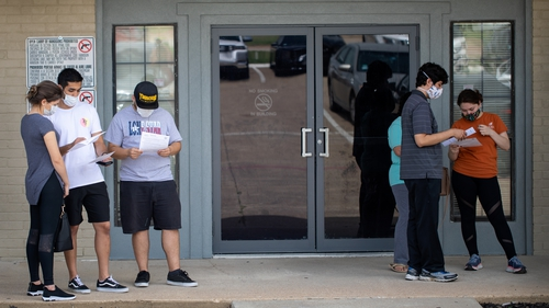 Texas Governor orders wearing of face coverings in public places as Covid-19 cases surge