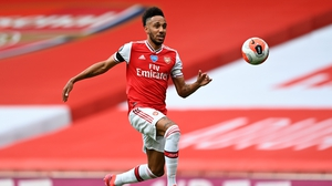 Aubameyang became the fastest Arsenal player to reach 50 Premier League goals this week