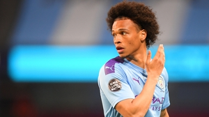 Sane scored 39 goals in 135 appearances for Manchester City