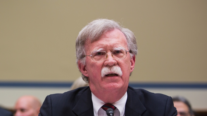 John Bolton on Today with Sarah McInerney