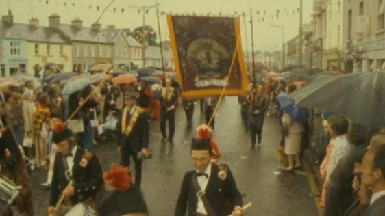 Orange Order parade, Northern Ireland (1975)