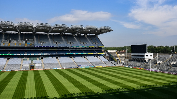 Croke Park will be hosting matches for the final months of the year, as things stand