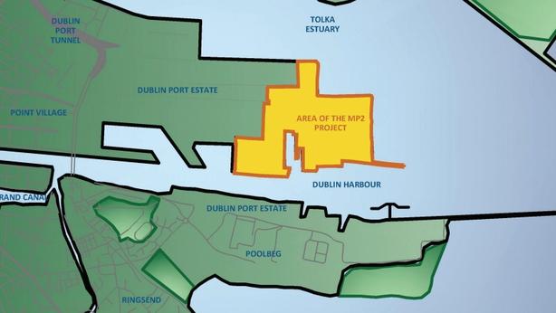 Dublin Port expansion plan
