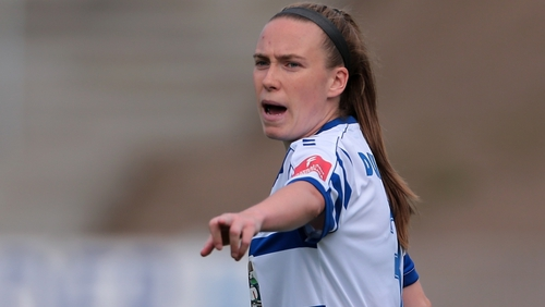 Claire O'Riordan of MSV Duisburg