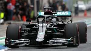 Mercedes ran the DAS system for the first time at a race weekend