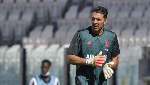 Gianluigi Buffon has set a new record for Serie A appearances