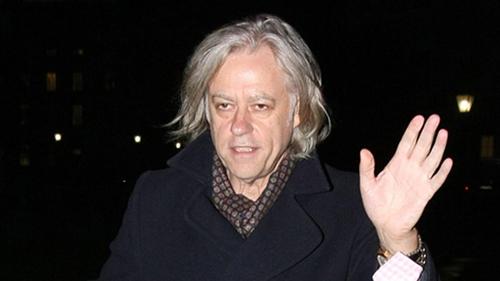 Bob Geldof is among the signatories