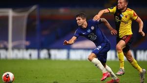The USA international impressed again against Watford