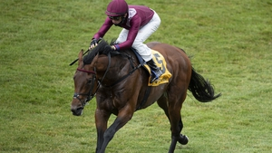Mishriff finished strongly to take the Prix du Jockey Club at Chantilly