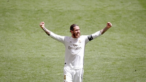 Defender Sergio Ramos has scored five times since the season resumed