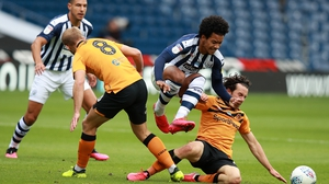 Matheus Pereira was in fine form for the Baggies