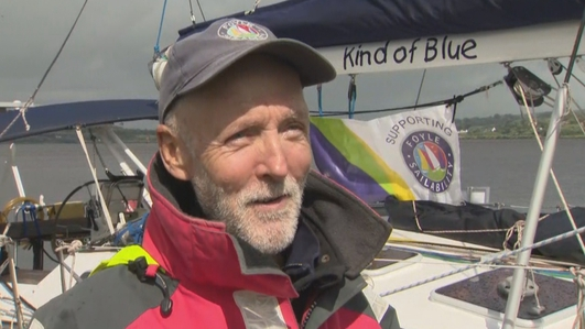 Solo Atlantic voyage is a triumph for one-armed sailor