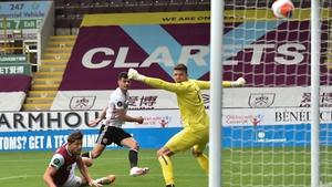 John Egan smashes home his first Premier League strike