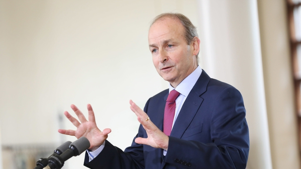 Micheál Martin said the Govt and the National Public Health Emergency Team will 'continue to monitor the situation closely'