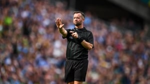 Gough refereed last year's All-Ireland football finals