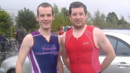 Philip Brophy (left) and his brother Fergus
