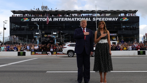 President Trump Rips NASCAR's Bubba Wallace for Noose Hoax