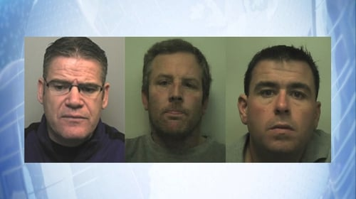 Thomas Kavanagh, Daniel Canning and Gary Vickery (L to R)