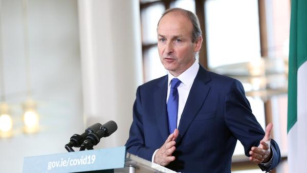 The Taoiseach will speak at Dublin Castle (File pic)