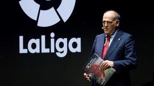 President of La Liga Javier Tebas