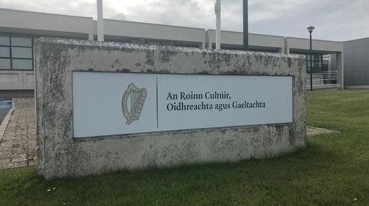 Seán Mac Eoin, Príomhoifigeach Roinn na Gaeltachta.