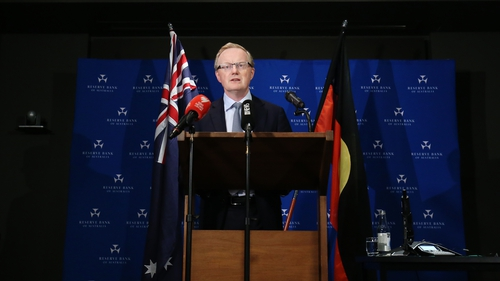 Governor Philip Lowe noted Australia's A$2 trillion economy was in the midst of its biggest contraction since the 1930s