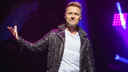 "Ronan Keating: """"My parents, my dad in particular, he came from a generation where he found it hard to say he loved us and put his arm around us."""