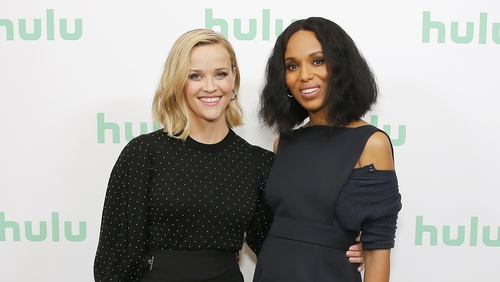 Donal O'Donoghue talks to Kerry Washington and Reese Witherspoon, stars of Little Fires Everywhere.