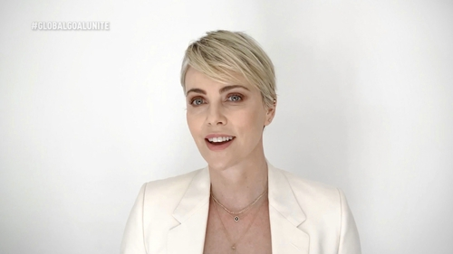 """Charlize Theron: """"Yeah, it's a little heartbreaking, for sure."""""""