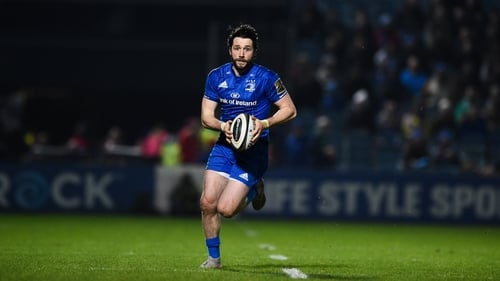 Barry Daly scored 19 tries in 36 appearances for Leinster