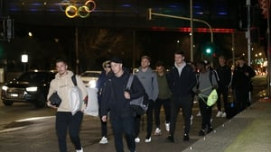 Melbourne based players in the A-League had a wasted trip to the airport on Tuesday